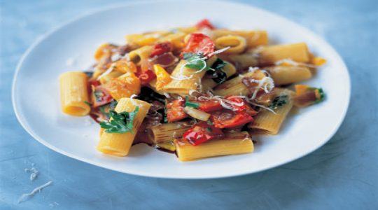 Pasta Peperonata by Jamie Oliver