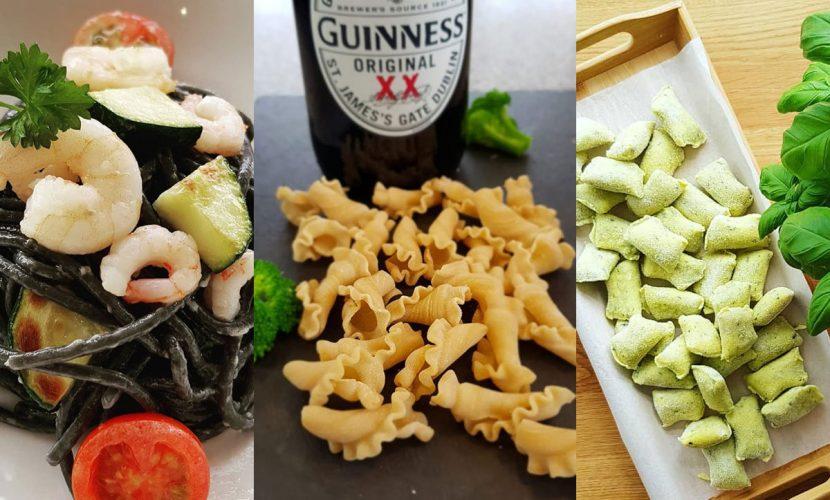 Creative pasta flavours